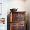 bamboo-cupboard-iron-bowl